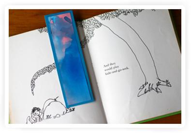 boekenlegger knutselen