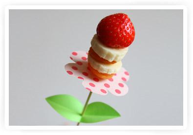 fruitspiesjes uitdelen tutorial