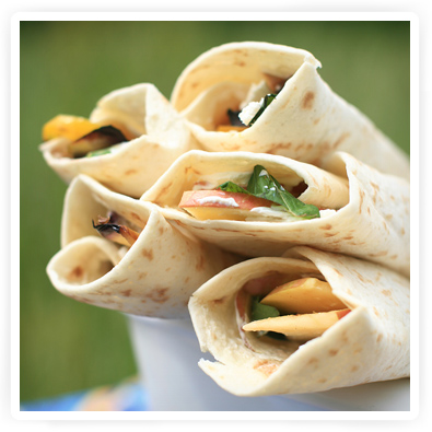 wraps voor de picknick recept