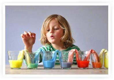 experimenteren met kleur voor kinderen!