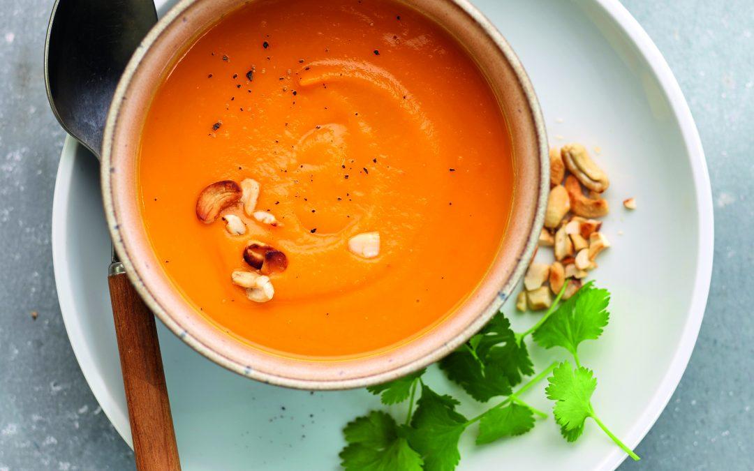 Groenteverstoppertje met soep