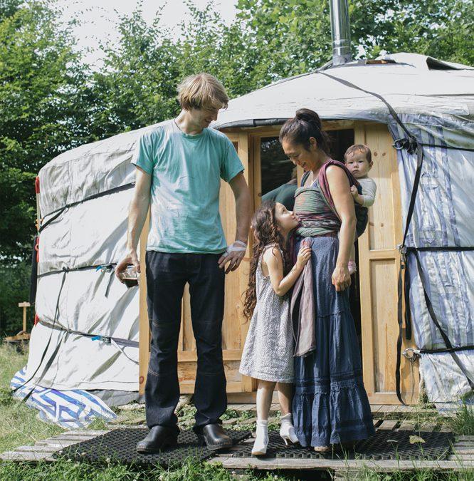 Wonen in een yurt, en blijven dromen
