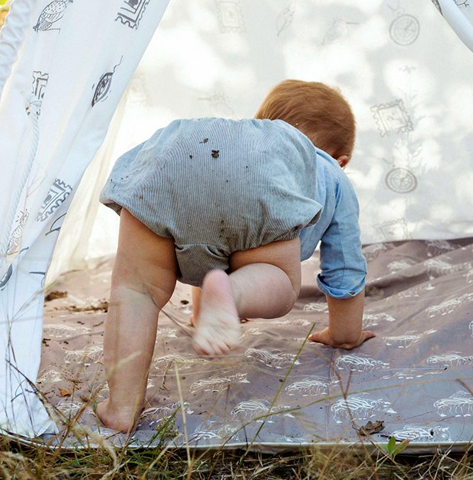 Kamperen met je baby kan prima
