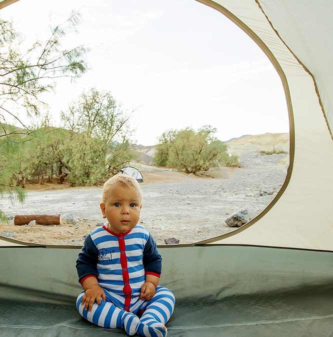 7 tips op de camping met je baby