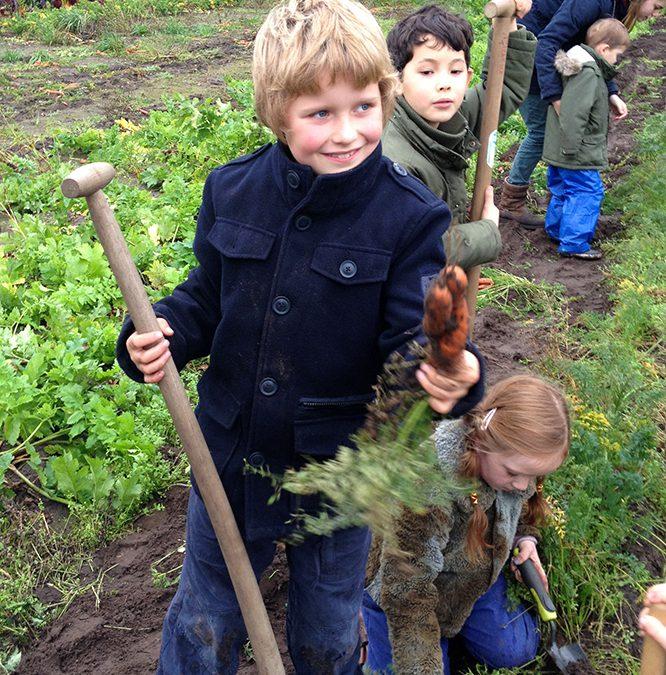 Levend onderwijs vanuit de natuur op Iduna in Breda