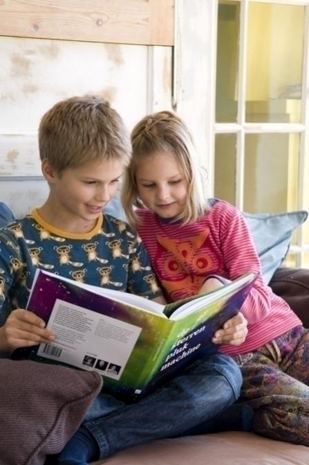 Kinderboek: De sterrenplukmachine