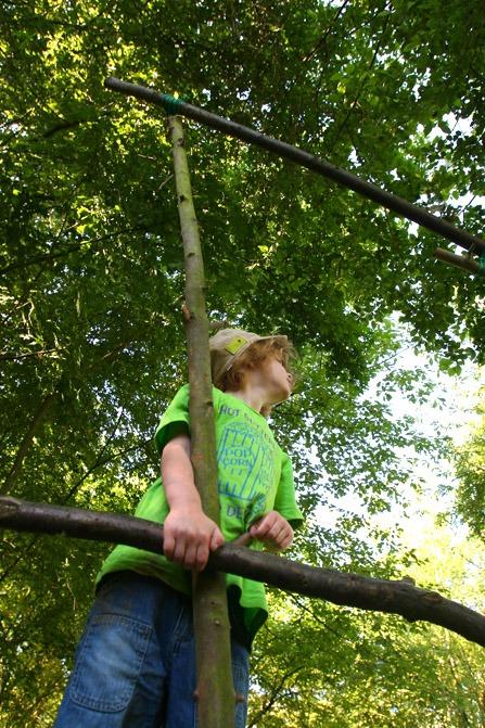 Avontuurlijk survivallen en kamperen met het gezin