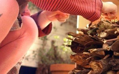 Bijenhotel, met een beetje boren in baksteen