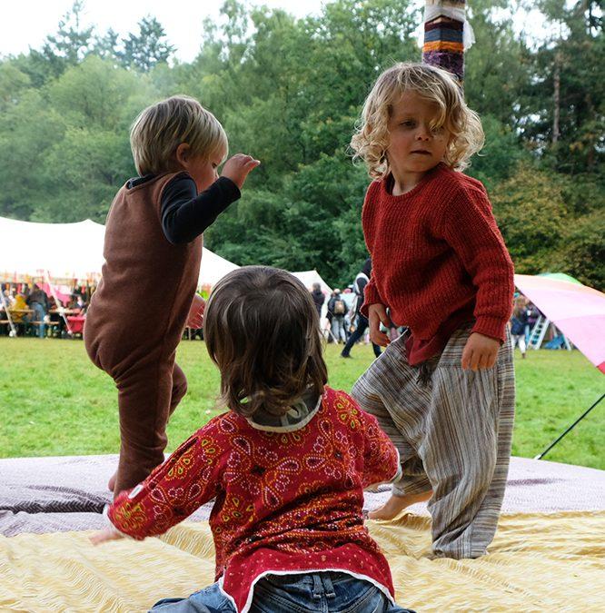 Kiindfestival: blije hippies waar je ook kijkt
