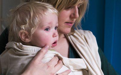 Mindful omgaan met je huilende baby