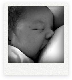 eerste borstvoeding