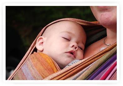 help mijn baby wil niet in de draagdoek