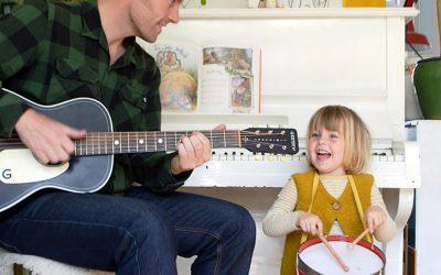 Muziek maken met je gezin