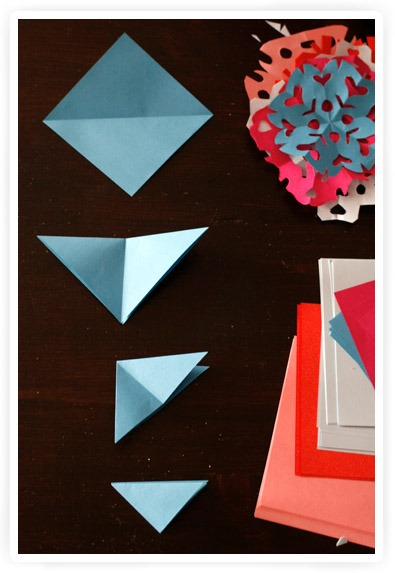 knutselen: raamkristallen maken. mooi zeg.