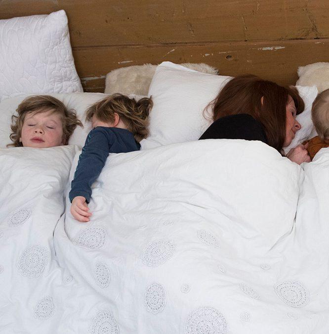 Hoe kan ik samen slapen met twee kleintjes?