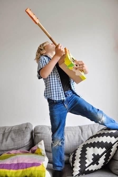 Boem retteketet: muziekinstrumenten maken