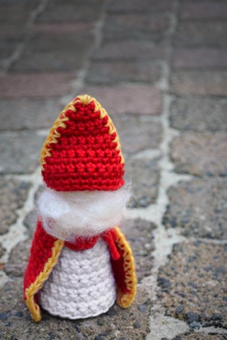 Sinterklaas Haken Om Mee Te Spelen Kiind