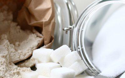 Suiker, zout en witmeel
