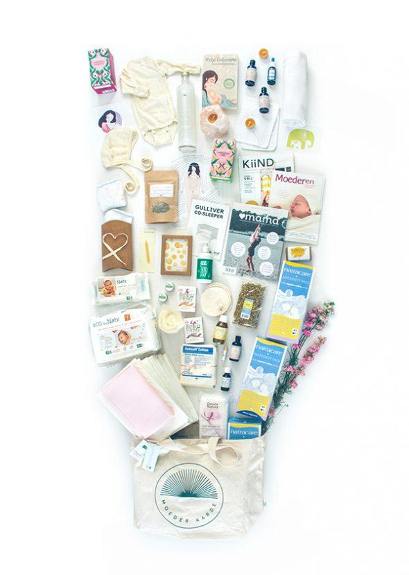 Moeder Aarde - bewust zwanger geboorte kraampakket - Overvloed - Kiind 2