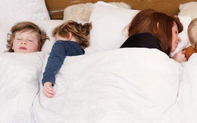 Kinderen willen samen slapen