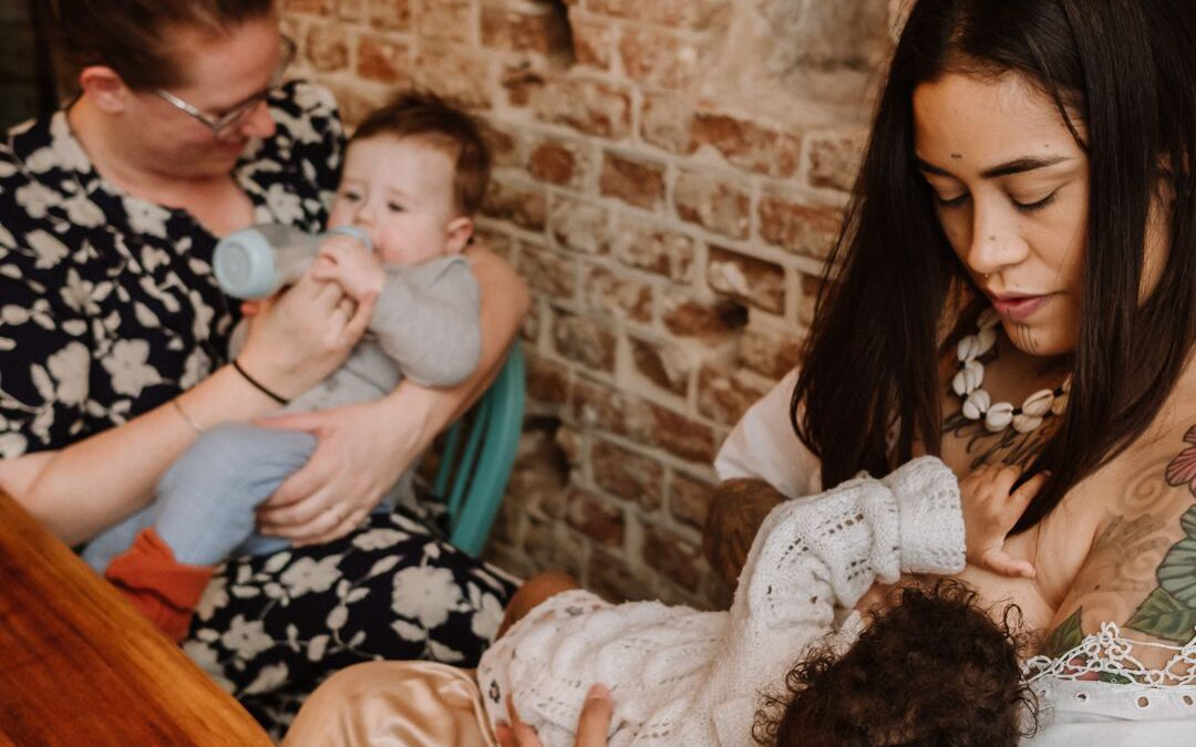 Waarom het goed is om het over borstvoeding te hebben