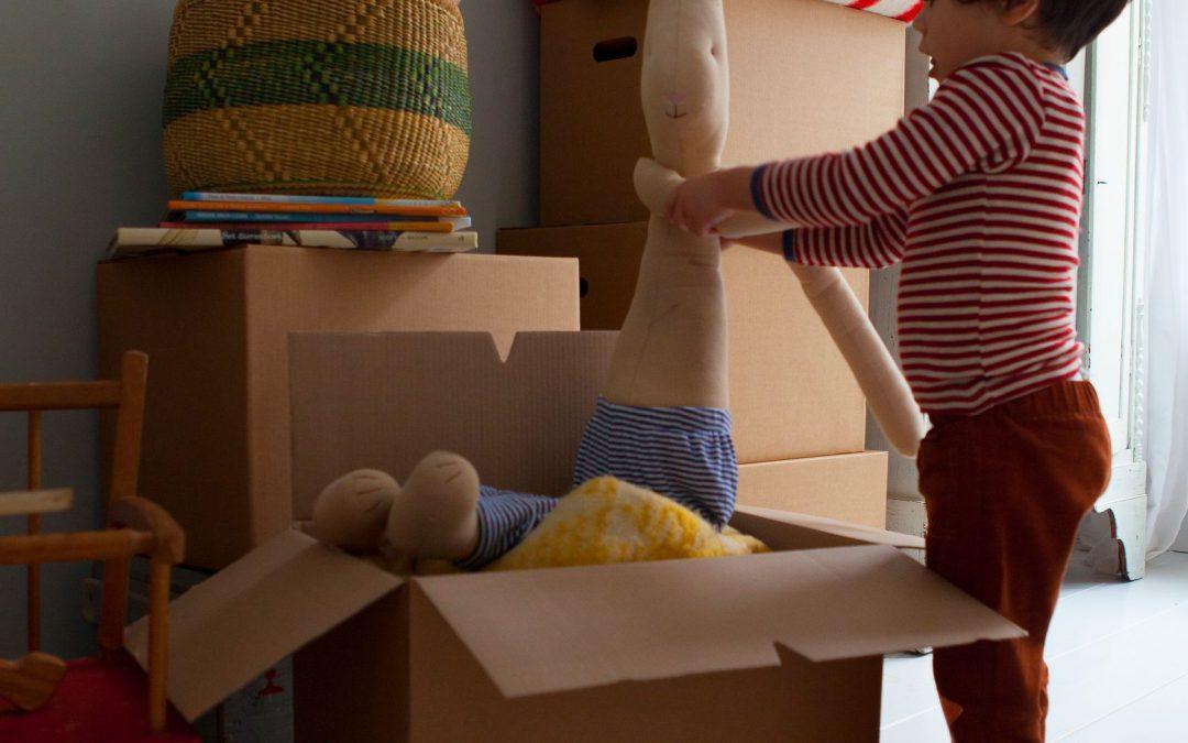 Hoe kan ik mijn kind betrekken bij de verhuizing?