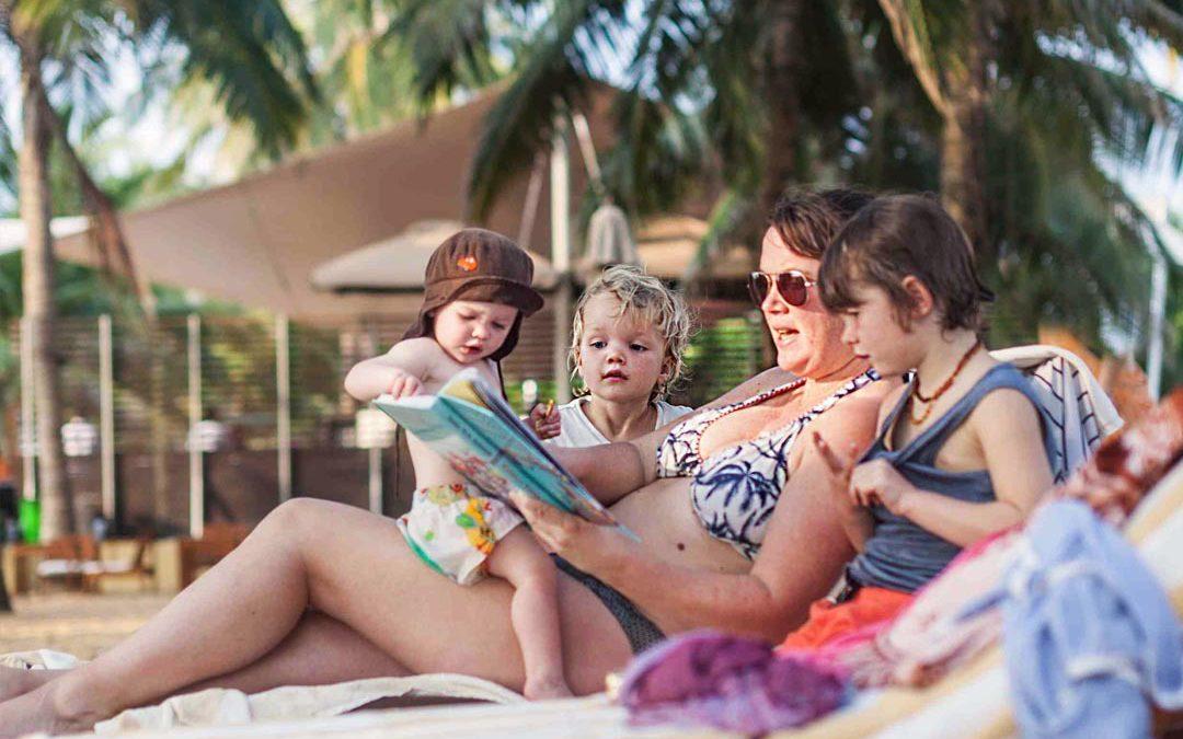 Naar een tropisch eiland met het hele gezin, wie wil dat nu niet?