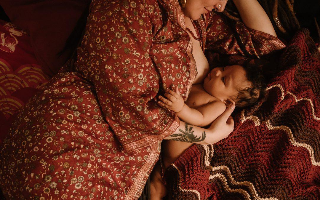 Babytijd is cocoontijd (en dat is goed genoeg)