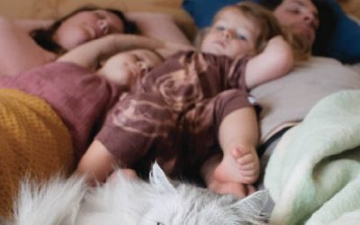 Baby's die doorslapen? Het is een mythe (of uitzonderlijk)