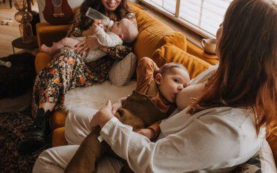 Ik ben een borstvoedingsmoeder zonder borstvoeding